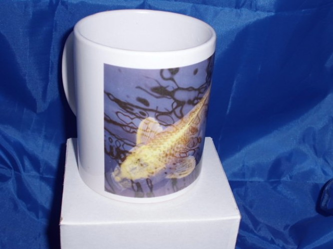 Koi Carp personalised mug