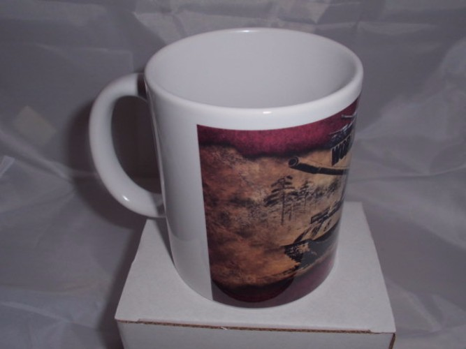 T-55 World of Tanks Printed mug