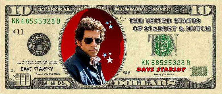 Starsky $10 bill Promotional mug