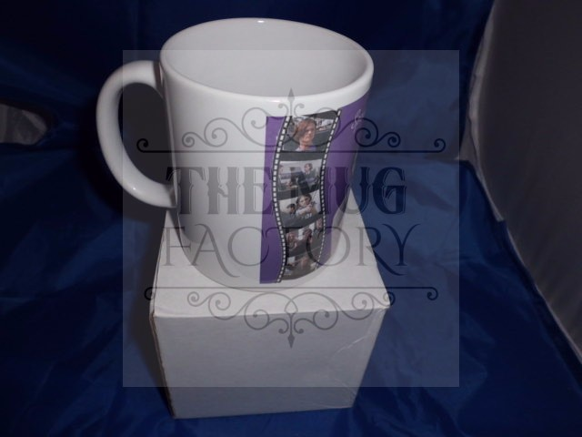 Spencer Reid Criminal minds purple personalised mug