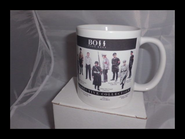 Worlds Best dressed Hugo Boss with a killer look printed mug