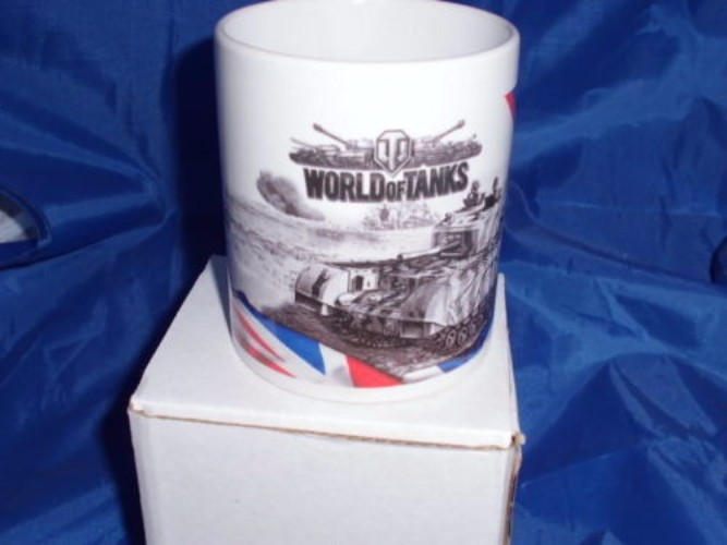 World of tanks Churchill tank  military mug