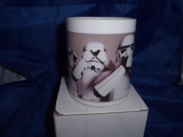Star wars Stormtrooper here no evil see no evil speak no evil personalised mug